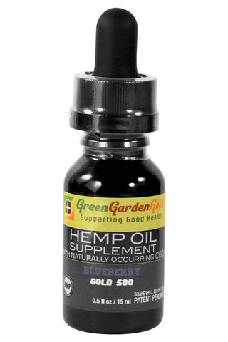 Green Garden Gold Hemp Oil 500mg