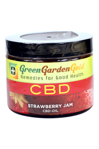 Green Garden Gold CBD Strawberry Jam 500mg