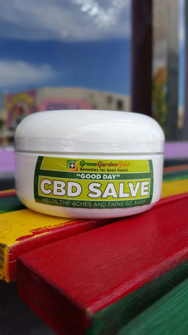 Green Garden Gold CBD Salve 75mg