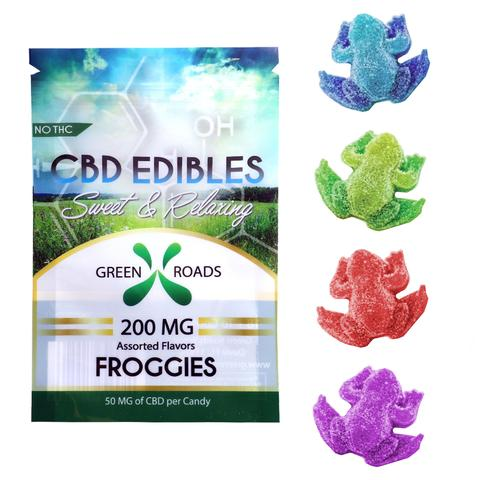 Green Roads CBD Edible Froggies