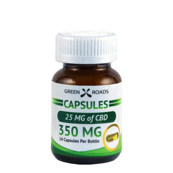 Green Roads 350mg CBD Capsules