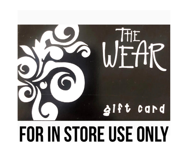 $50 Gift Card -In store use only