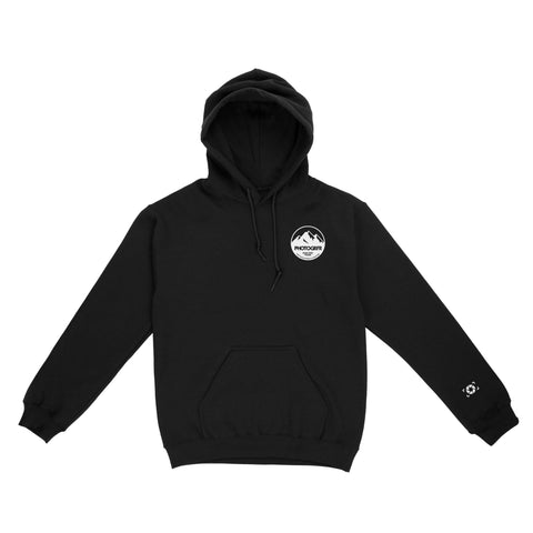 The Mountains Hoodie - Black