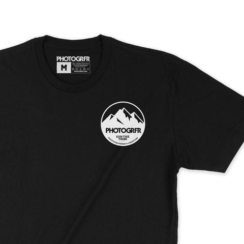 The Mountains Tee - Black