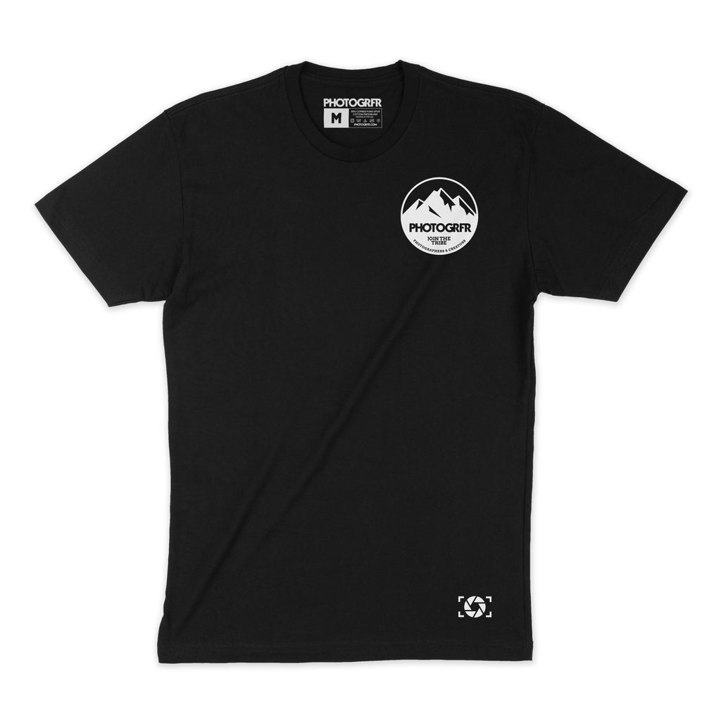 The Mountains Tee - Black Shirts PHOTOGRFR.COM