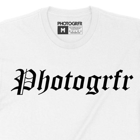 The OG Vintage Photogrfr Tee - White