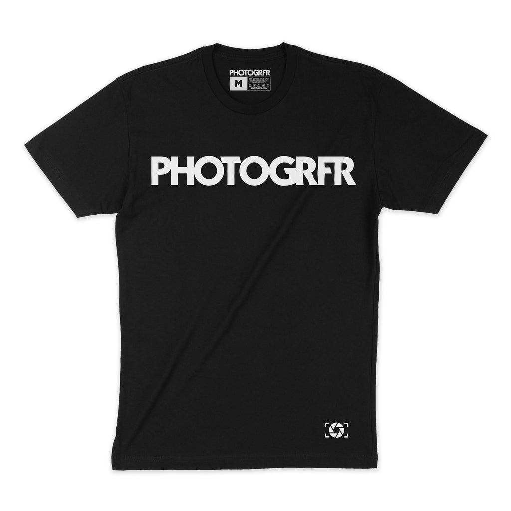 The PHOTOGRFR Black Shirts PHOTOGRFR.COM