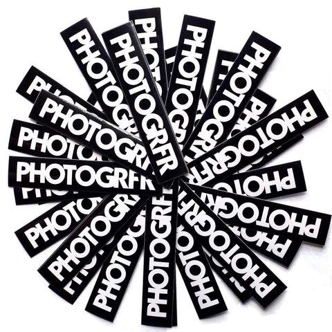 The Photogrfr Decal Sticker