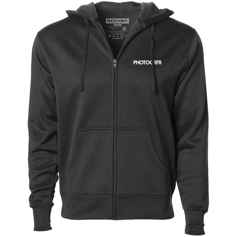 The PHOTOGRFR Full-Zip Hoodie