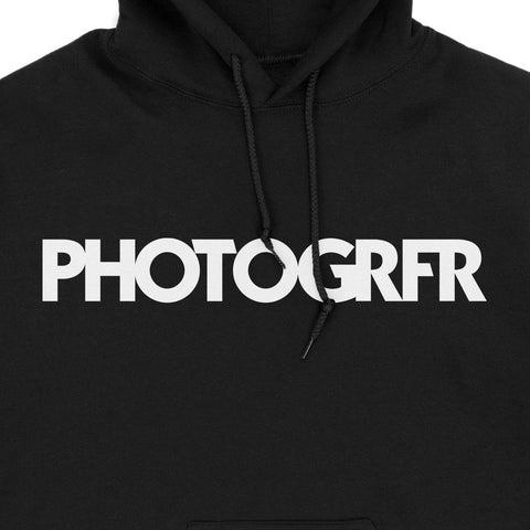 The PHOTOGRFR Hoodie - Black