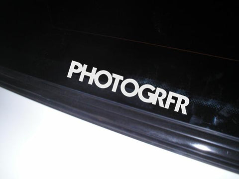 The Photogrfr Tribe Sticker