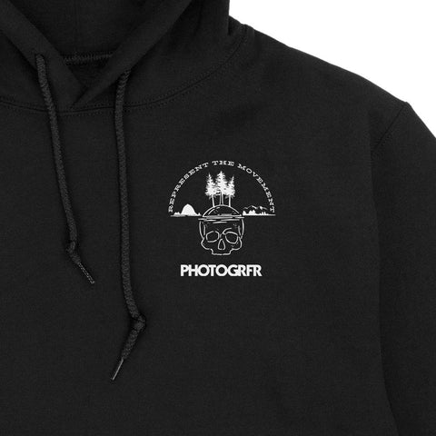 "The ""Photogrfrs Never Say Die"" Hoodie - Black"