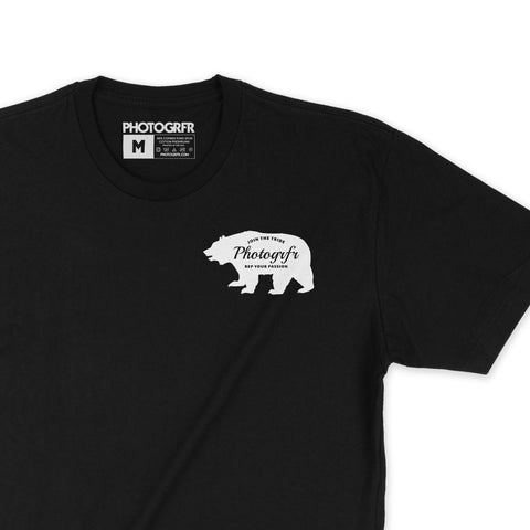 Wilderness Bear Tee - Black