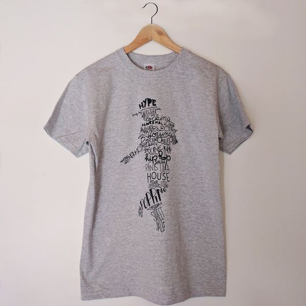 T-shirt ILTD AllStyles Dance GREY/black