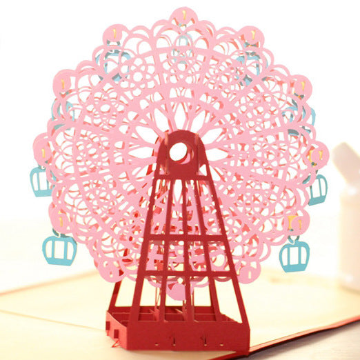 Ferris Wheel | 3D Card - The Only Roses