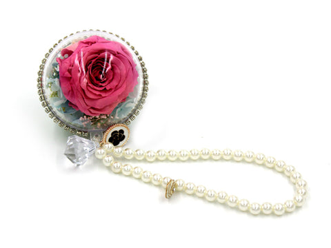 Preserved Rose Decorative Pendant For Car, Home, and Christmas ...