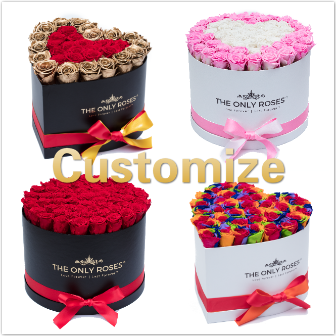 Customize Your Huggy Box ((Starting From $229.99) - The Only Roses