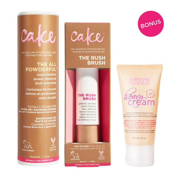 Wake and Cake<BR> Dry Shampoo Bundle - Medium