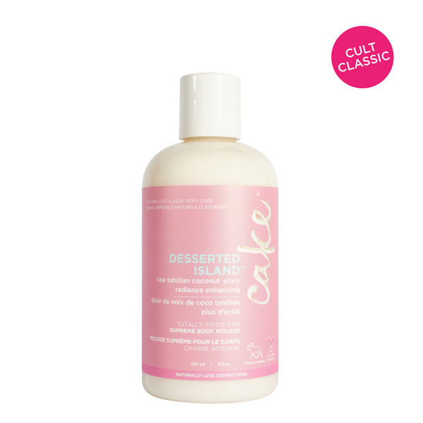 Cake Desserted Island Body Lotion | Hydrate Dry Skin | Coconut Oil