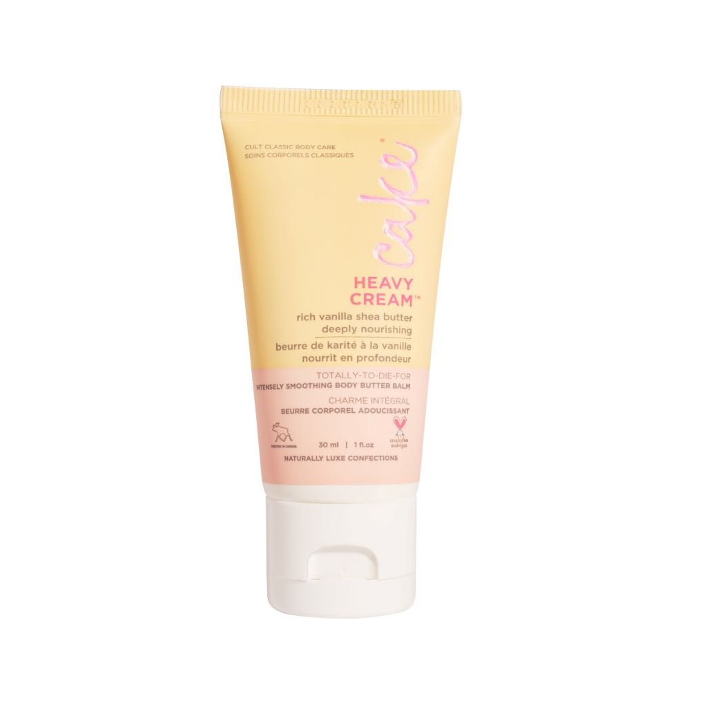 Heavy Cream  Travel Smoothing Body Butter Balm, 30 mL