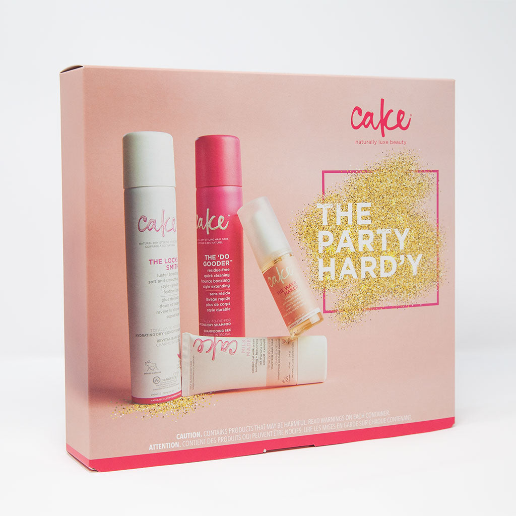 The Party Hard'y  Dry Styling Gift Set