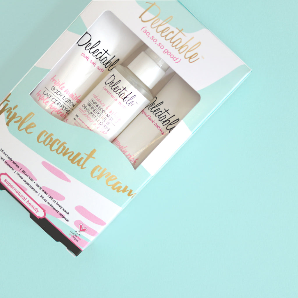 Triple Coconut Cream Set