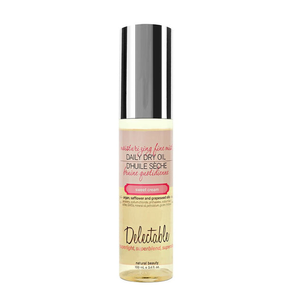 Delectable Dry Oil - Vegan Cruelty Free Natural Beauty