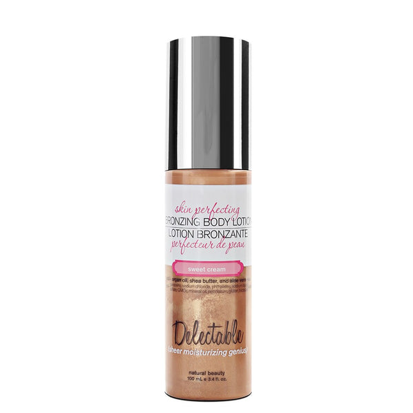 Delectable Best Tanning Lotion - Vegan Cruelty Free Natural Beauty