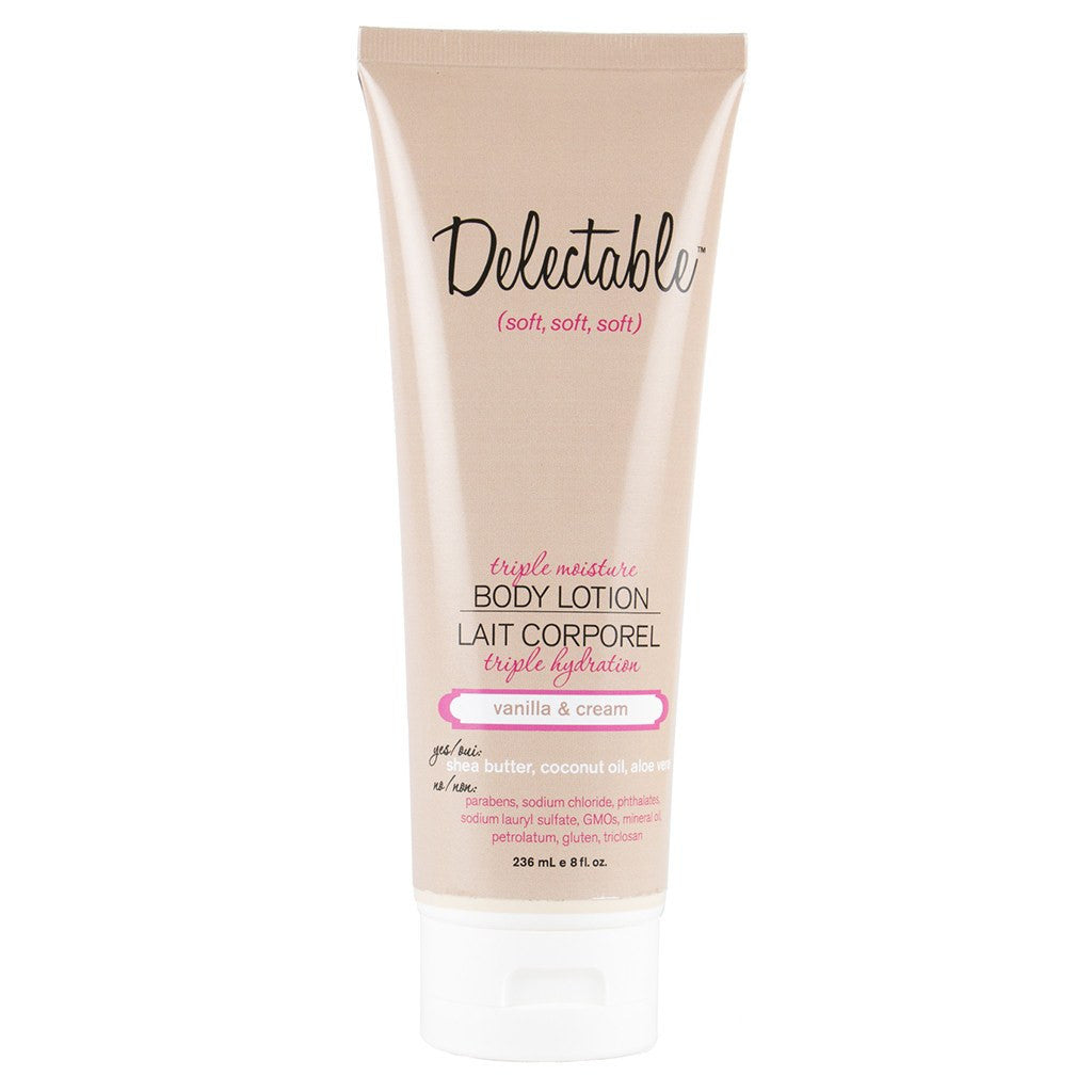 Bath And Body - Vanilla & Cream Triple Moisture Body Lotion
