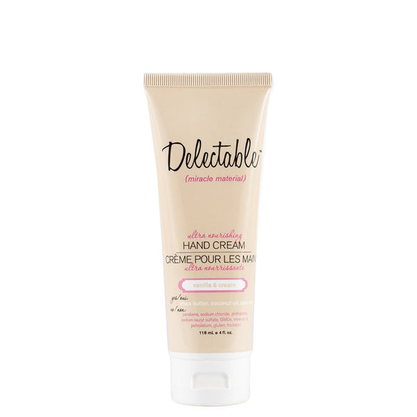 Delectable Vanilla Hand Cream - Vegan Cruelty Free Natural Beauty