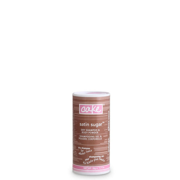 Cake Tinted Dry Shampoo Powder for Medium Hair - Travel Size - Vegan Cruelty Free Natural Beauty