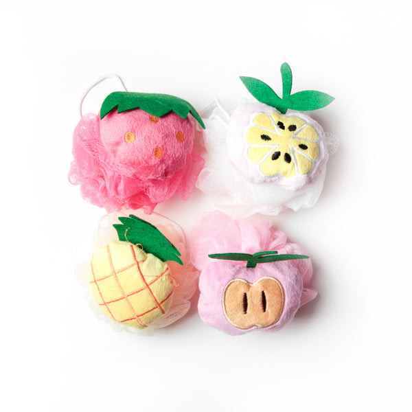 Limited Edition <BR> Fruit Loofahs