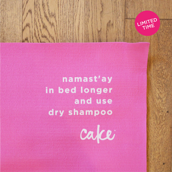 NAMAST'AY IN BED<BR> YOGA MAT