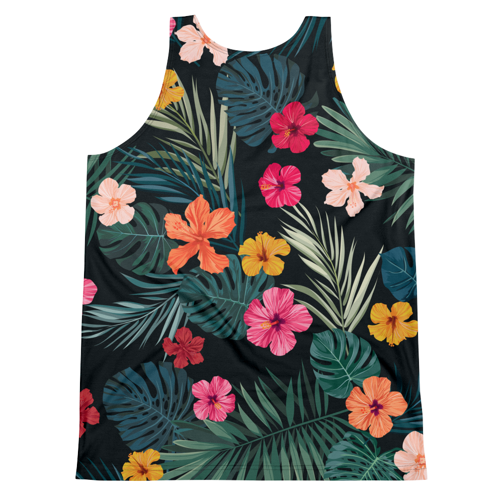 Hawaiian Shirt Tank Top