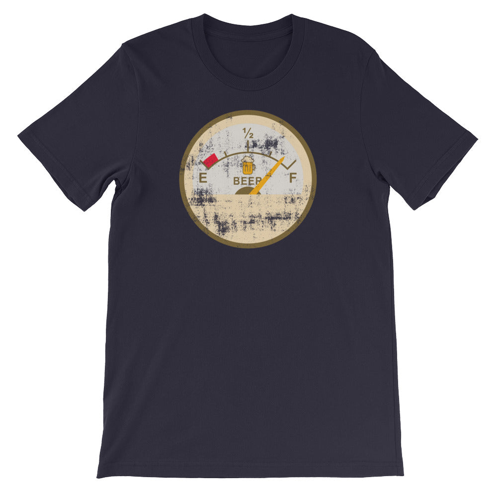 Beer Fuel Gauge T-Shirt