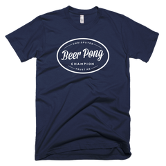 Undisputed Beer Pong Champion T-Shirt