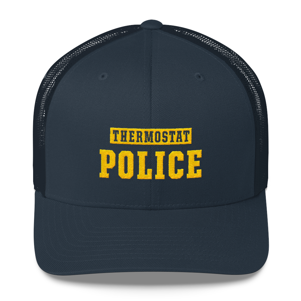 Thermostat Police Trucker Cap