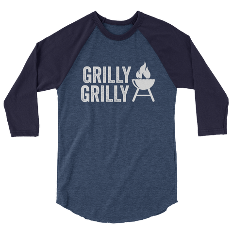 Grilly Grilly 3/4 Sleeve Raglan Shirt