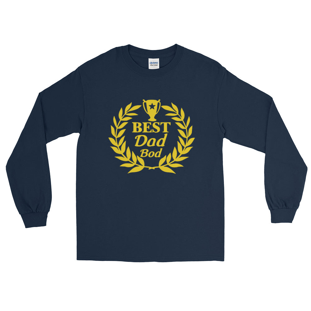 Best Dad Bod Long Sleeve T-Shirt