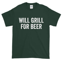 Will Grill For Beer T-Shirt