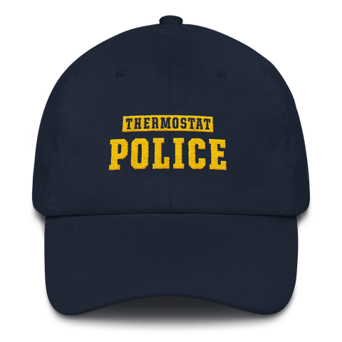 Thermostat Police Dad Hat