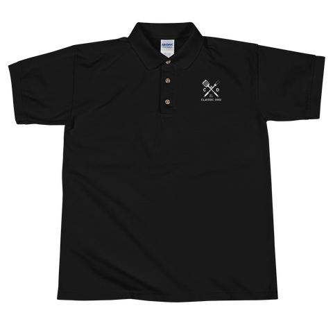 Classic Dad Embroidered Polo Shirt