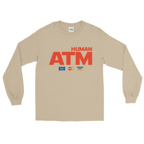 Human ATM Long Sleeve T-Shirt