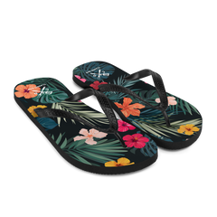 Hawaiian Shirt Flip-Flops