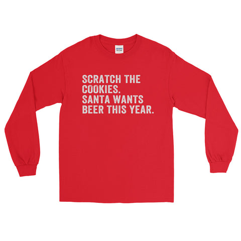 Scratch the Cookies • Long Sleeve T-Shirt