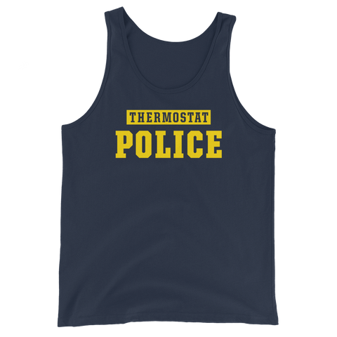 Thermostat Police Unisex Tank Top