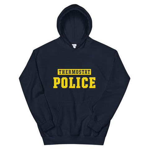 Thermostat Police Navy Hoodie