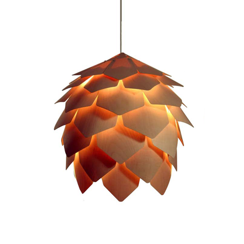 pinecone pendant lamp