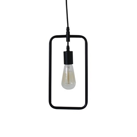 cafe square pendant lamp