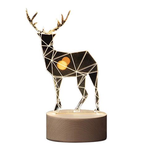3D ELK table lamp
